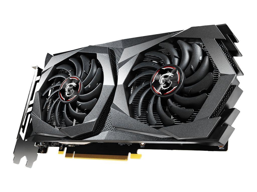 MSI GTX 1650 GAMING X 4G - Grafikkarten - GF GTX 1650 - 4 GB GDDR5 - PCIe 3.0 x16 - HDMI, 2 x DisplayPort