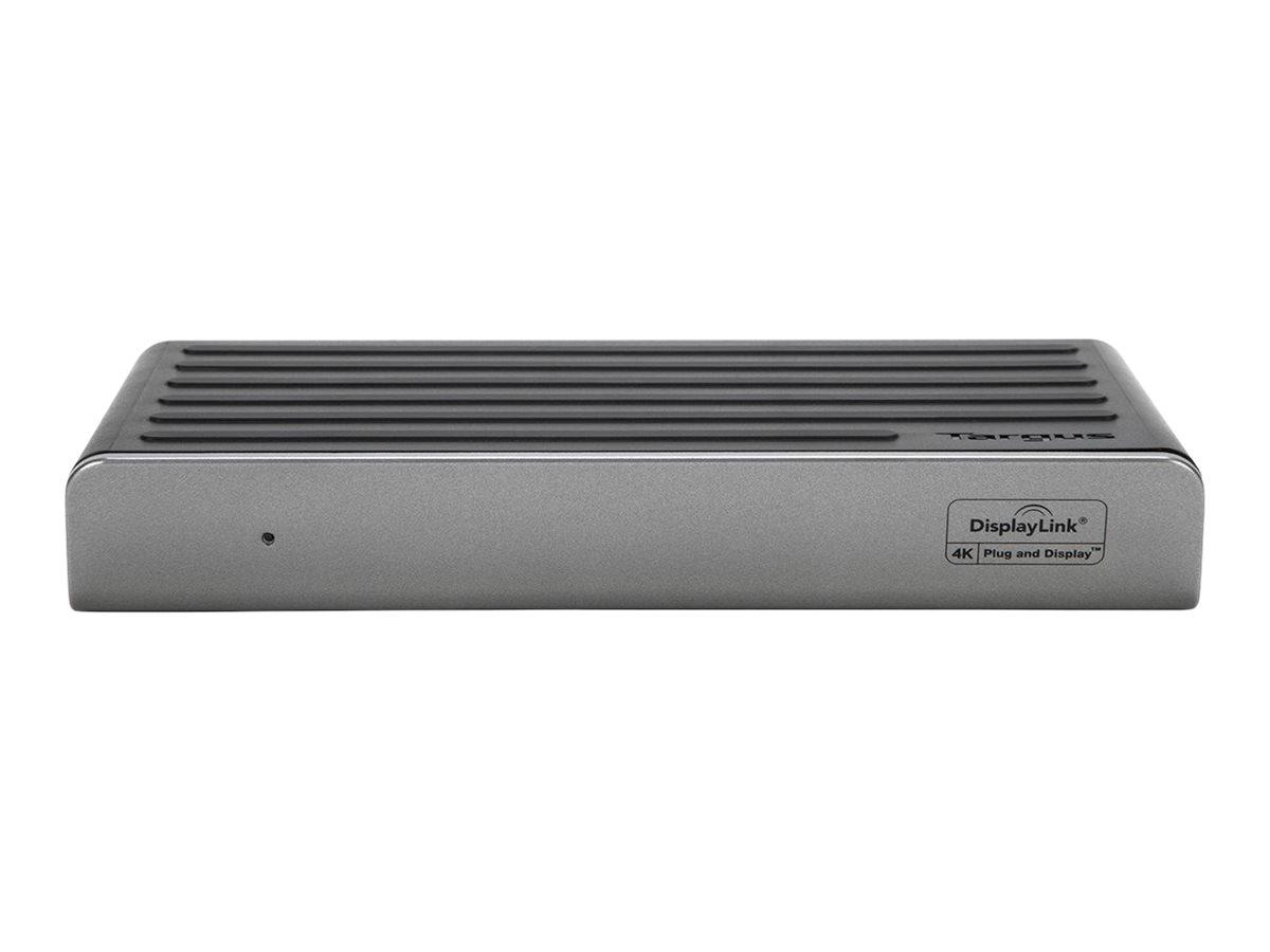 Targus Universal DV4K - Dockingstation - USB 3.0 - 2 x HDMI, 2 x DP - GigE - 45 Watt