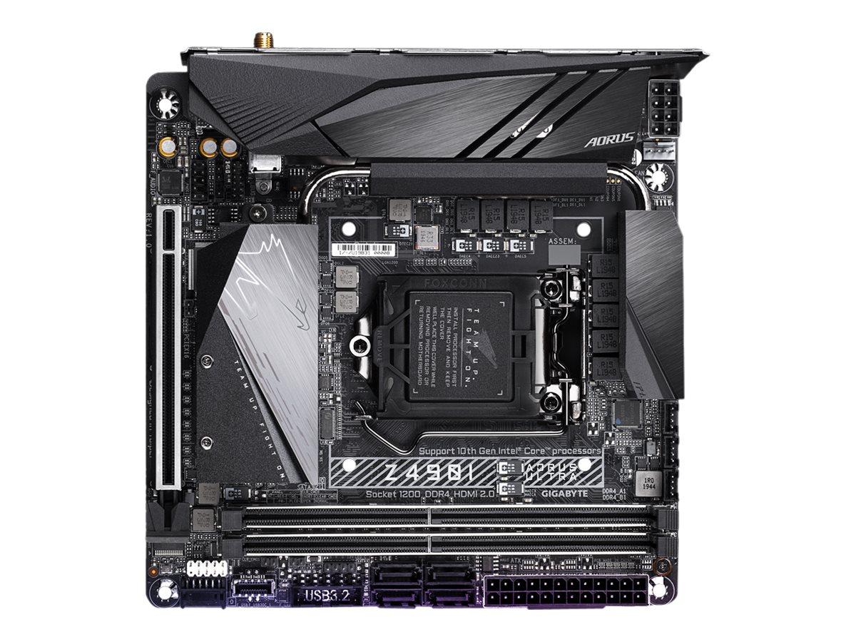 Gigabyte Z490I AORUS ULTRA - 1.X - Motherboard - Mini-ITX - LGA1200-Sockel - Z490