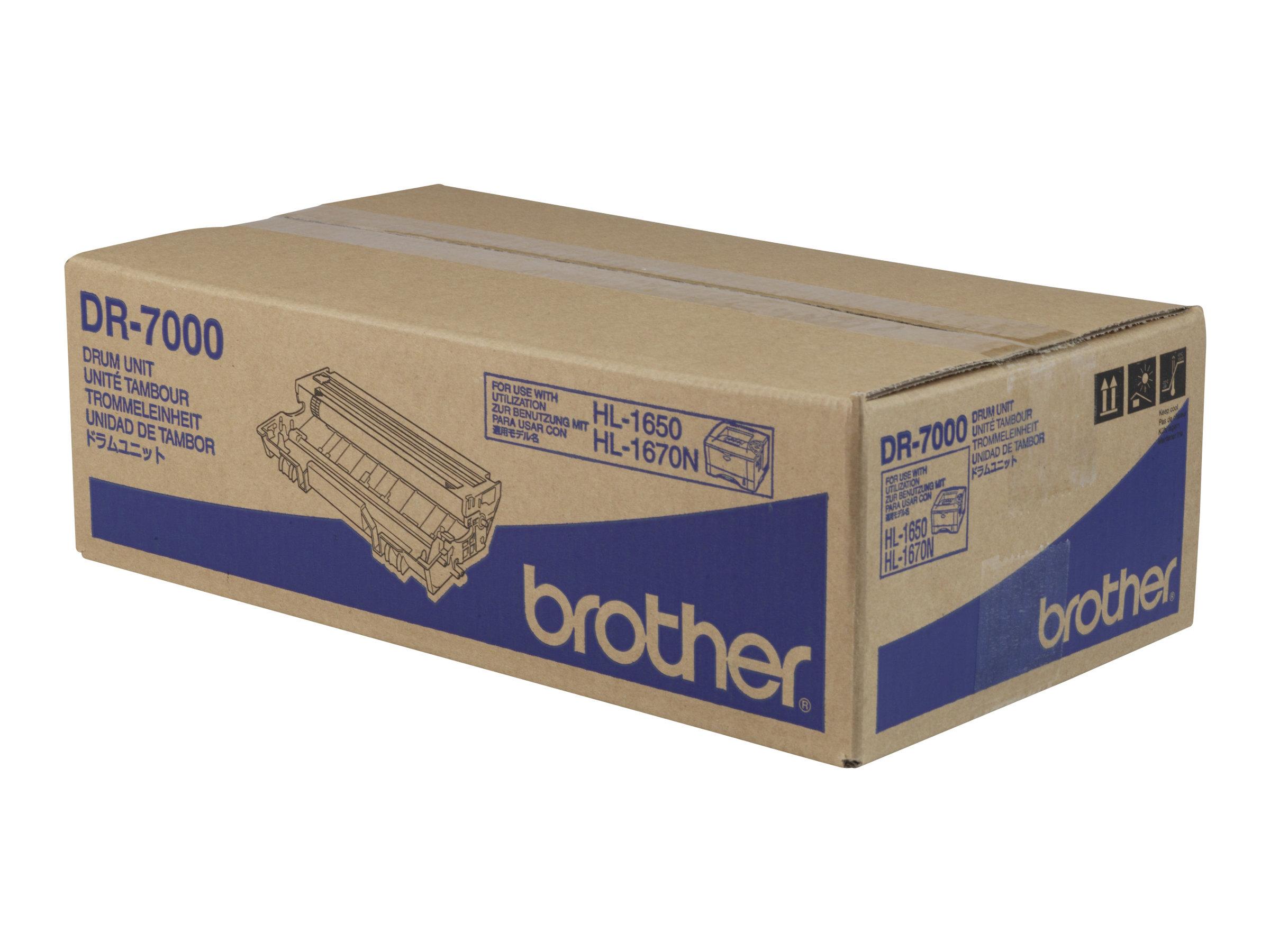 Brother DR7000 - 1 - Schwarz - Trommel-Kit - für Brother DCP-8020, 8025, HL-1650, 1670, 1850, 1870, 5030, 5040, 5050, 5070, MFC-