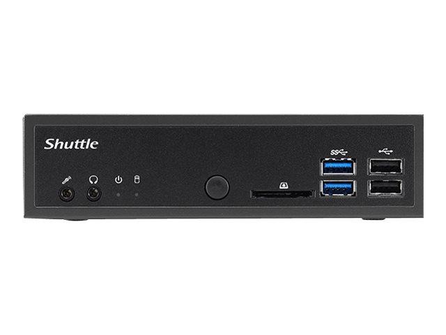 Shuttle XPC slim D1150EP - Slim-PC - 1 x Pentium G4560 / 3.5 GHz - RAM 4 GB - SSD 32 GB - HD Graphics 610