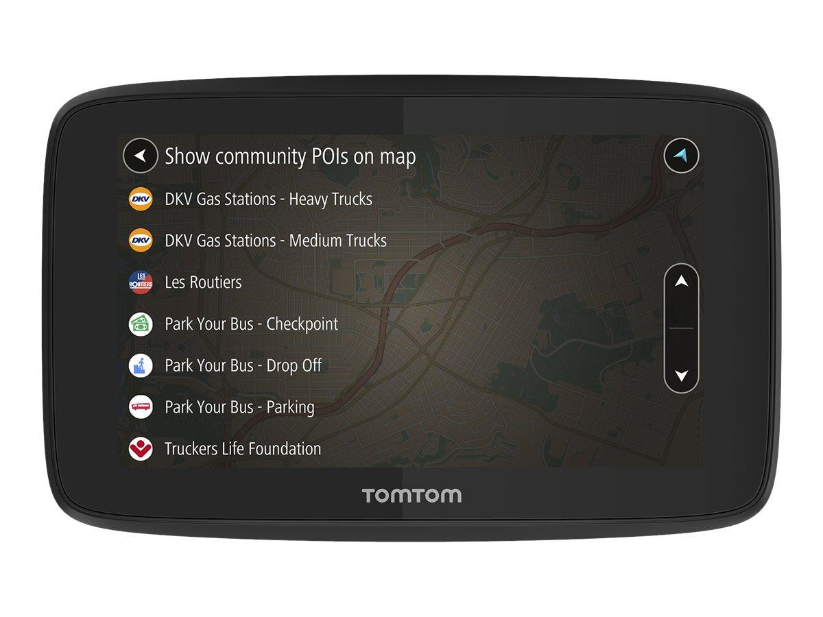 TomTom GO Professional 520 - GPS-Navigationsgerät - Kfz 5 Zoll Breitbild