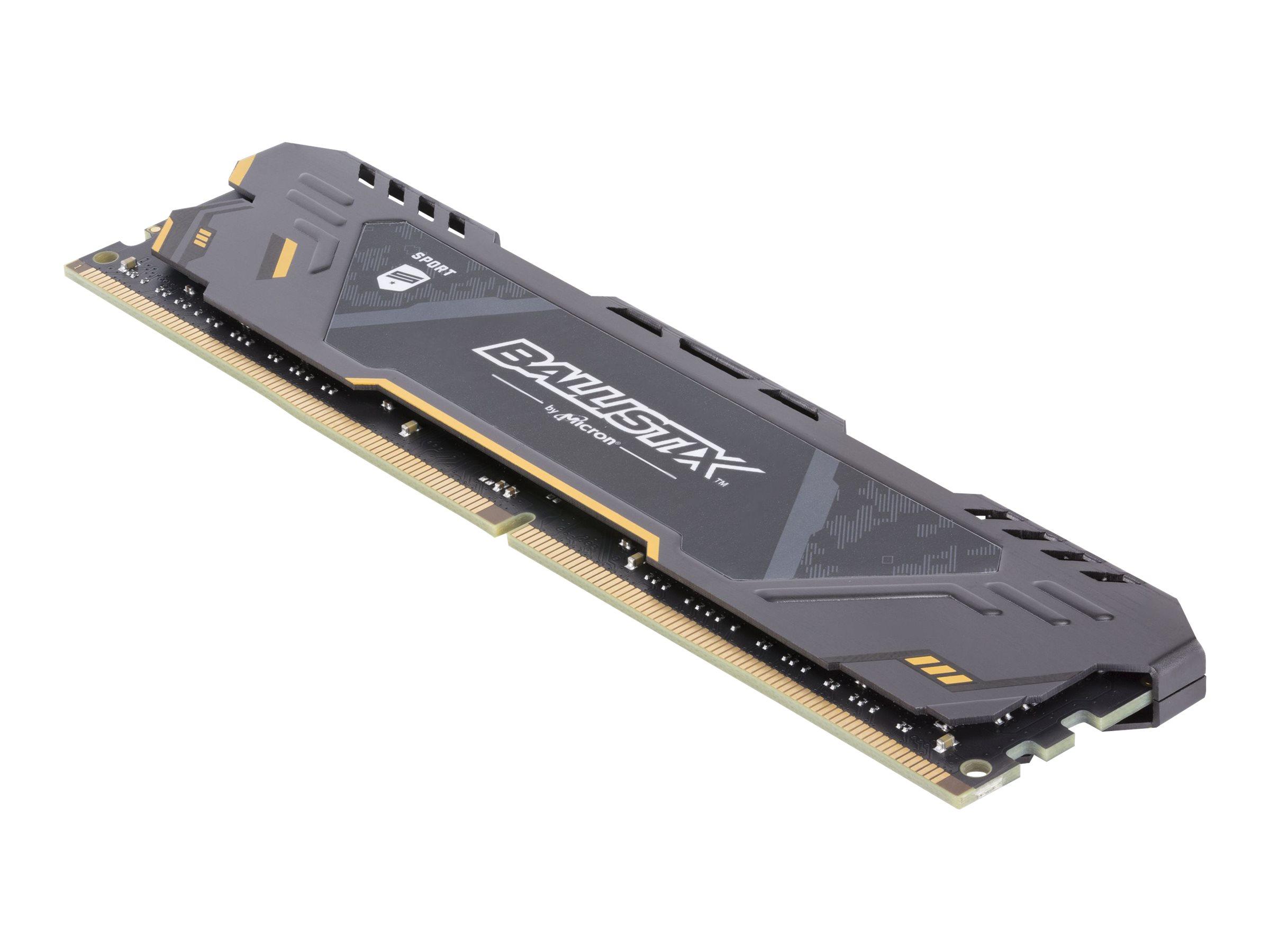 Ballistix Sport AT - DDR4 - 64 GB: 4 x 16 GB - DIMM 288-PIN - 2666 MHz / PC4-21300 - CL16