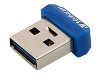 Verbatim Store 'n' Stay NANO - USB-Flash-Laufwerk - 64 GB - USB 3.0 - Blau