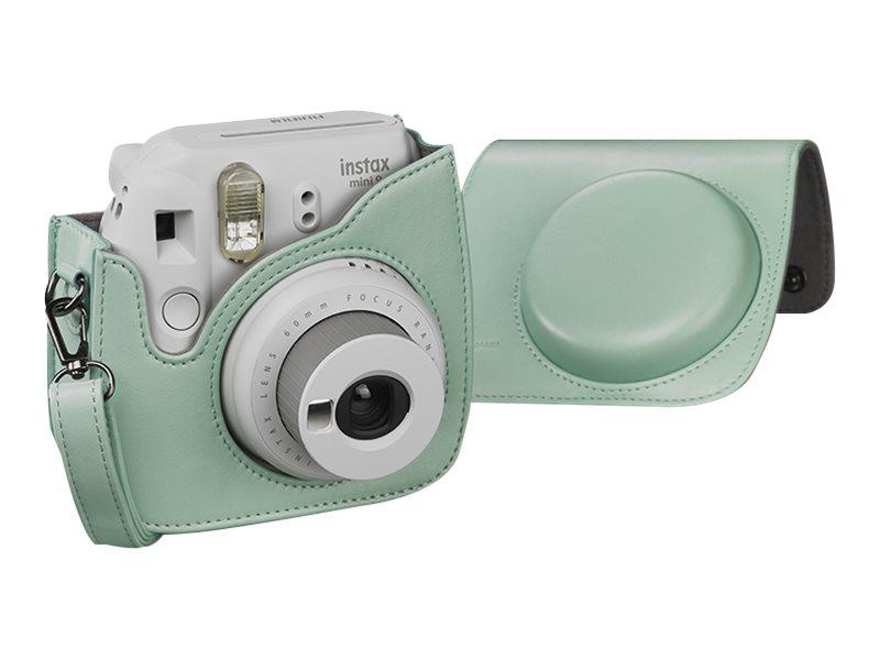 CULLMANN RIO Fit 100 - Tasche für Kamera - Kunststoff - Minze - für Fujifilm Instax Mini 8, Mini 9