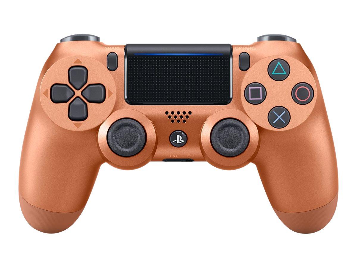 Sony DualShock 4 - Game Pad - kabellos - Bluetooth - Kupfer - für Sony PlayStation 4
