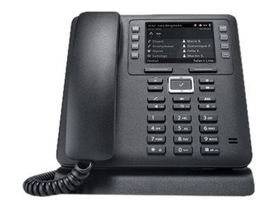 elmeg IP630 - VoIP-Telefon - SIP - 4 Leitungen - Schwarz