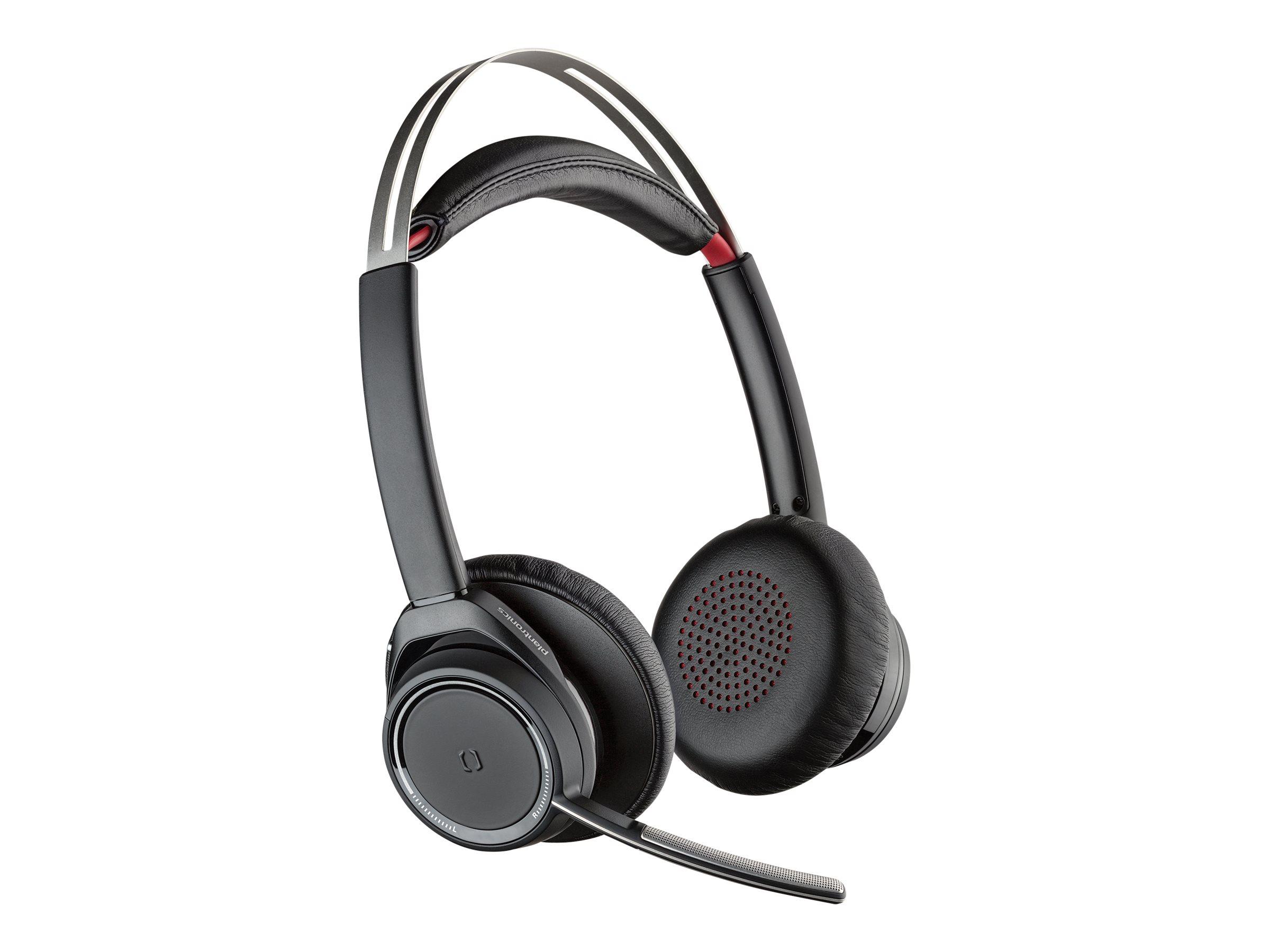 Plantronics Voyager Focus UC B825-M - Kein Ladegerät - Headset - On-Ear - Bluetooth - kabellos