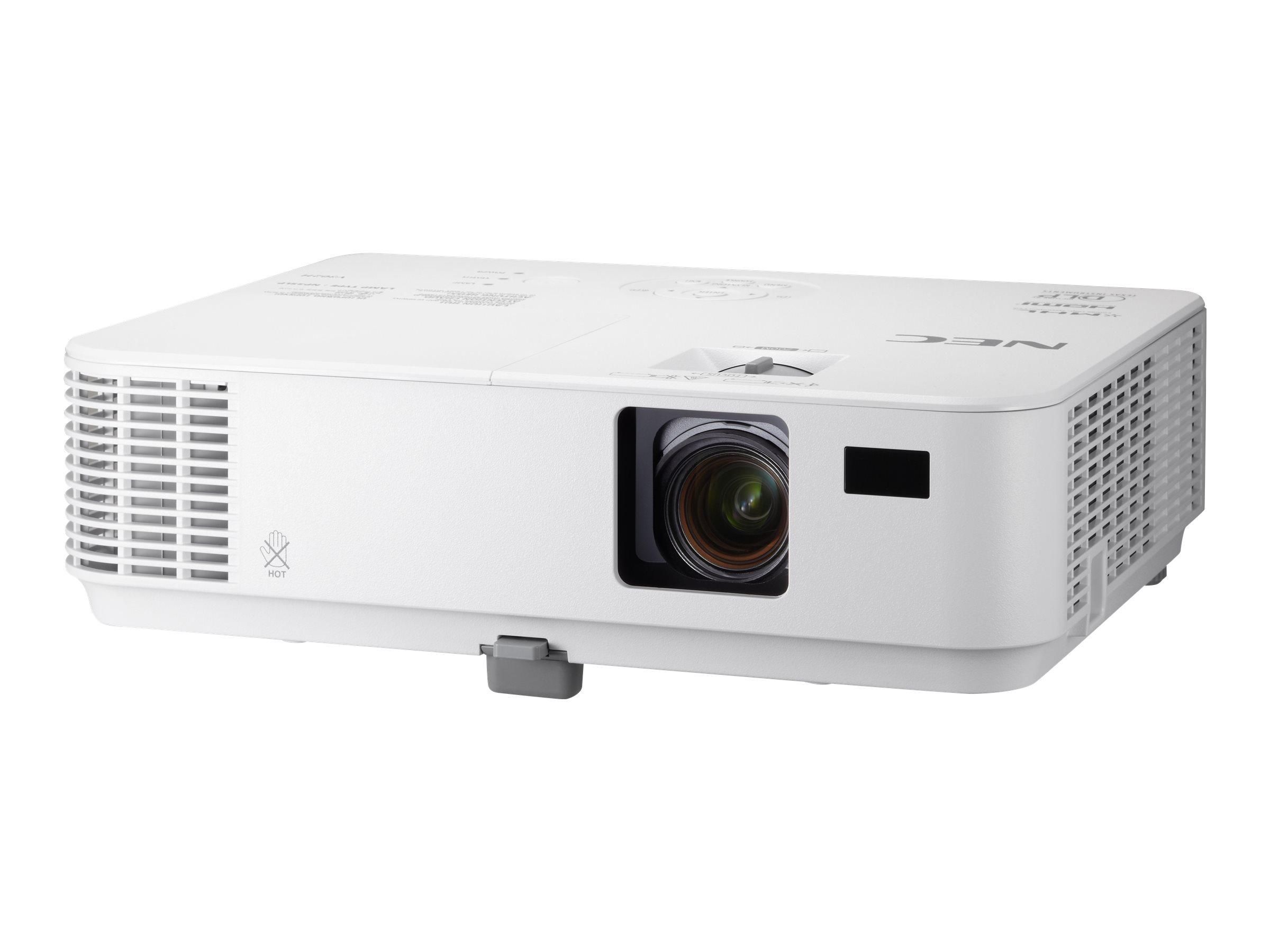 NEC V302X - DLP-Projektor - tragbar - 3D - 3000 ANSI-Lumen - XGA (1024 x 768)