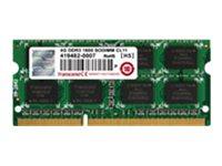Transcend JetRAM - DDR3 - 4 GB - SO DIMM 204-PIN - 1600 MHz / PC3-12800 - CL11