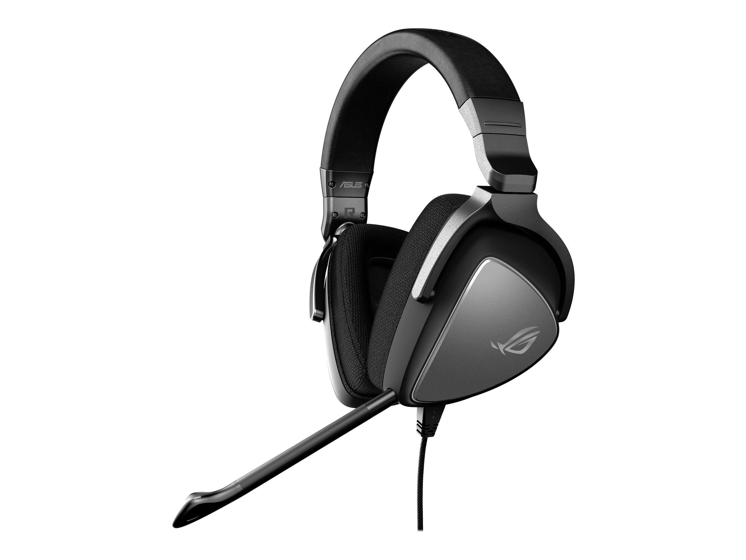 ASUS ROG Delta Core - Headset - ohrumschliessend - kabelgebunden - 3,5 mm Stecker