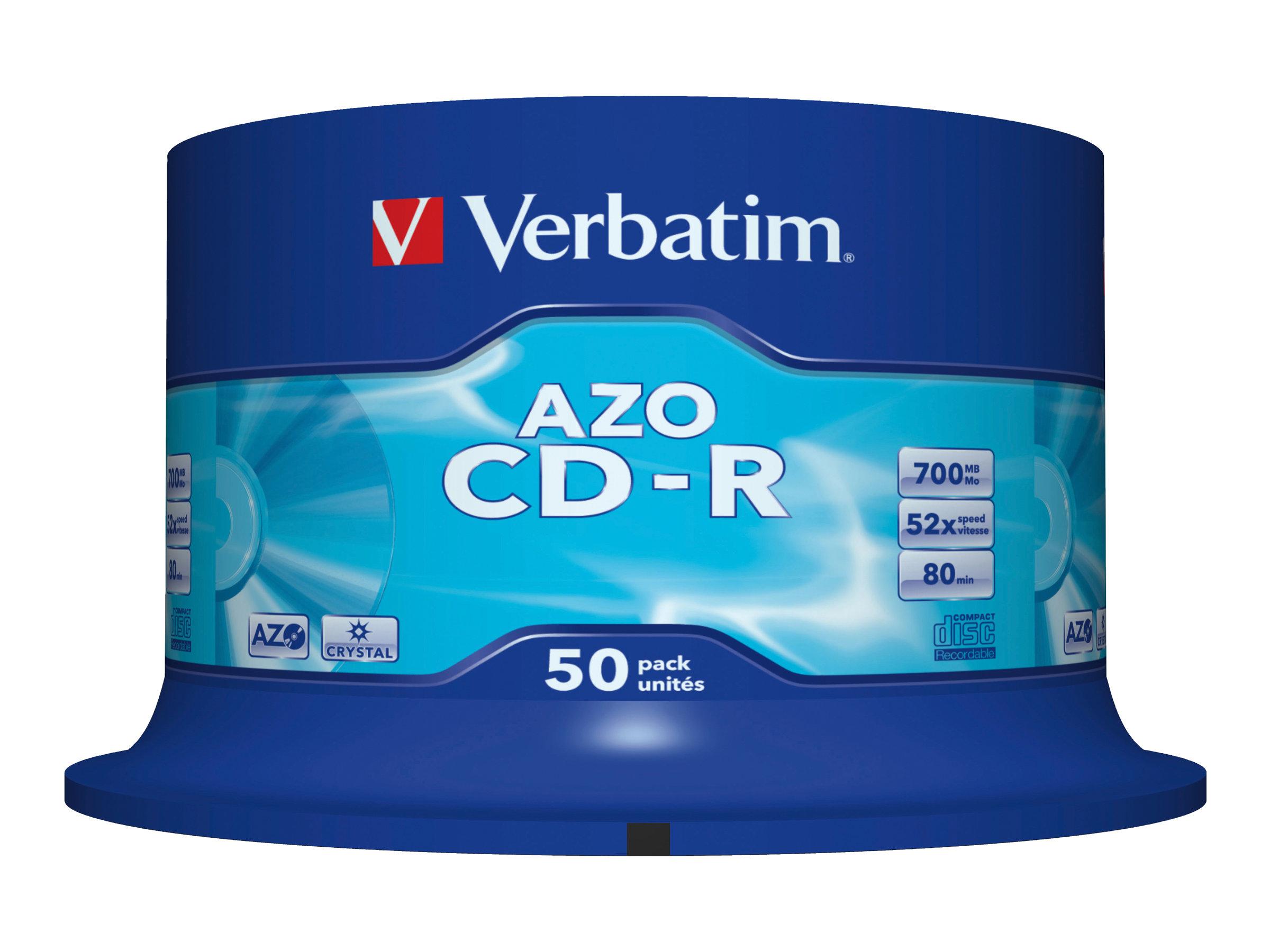Verbatim DataLifePlus - 50 x CD-R - 700 MB 48x - Spindel