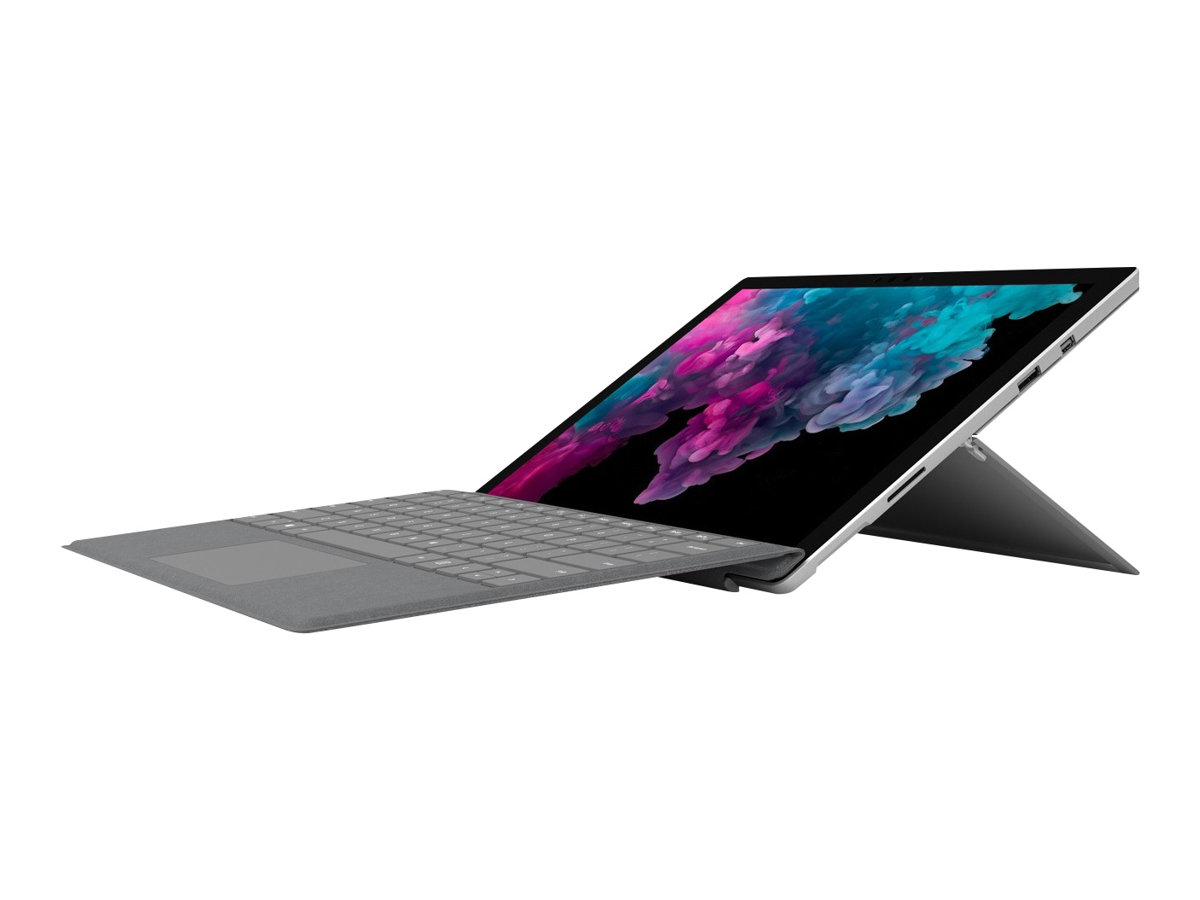 Microsoft Surface Pro 6 - Tablet - Core i5 8250U / 1.6 GHz - Windows 10 Home - 8 GB RAM - 128 GB SSD NVMe