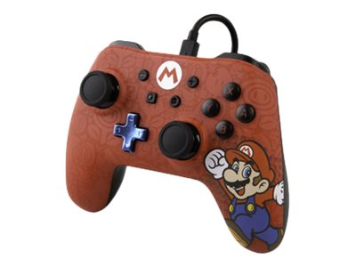 POWER A Character Series - Mario - Game Pad - kabelgebunden - für Nintendo Switch