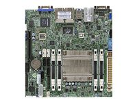 SUPERMICRO A1SRI-2758F - Motherboard - Mini-ITX - Intel Atom C2758 - USB 3.0 - 4 x Gigabit LAN