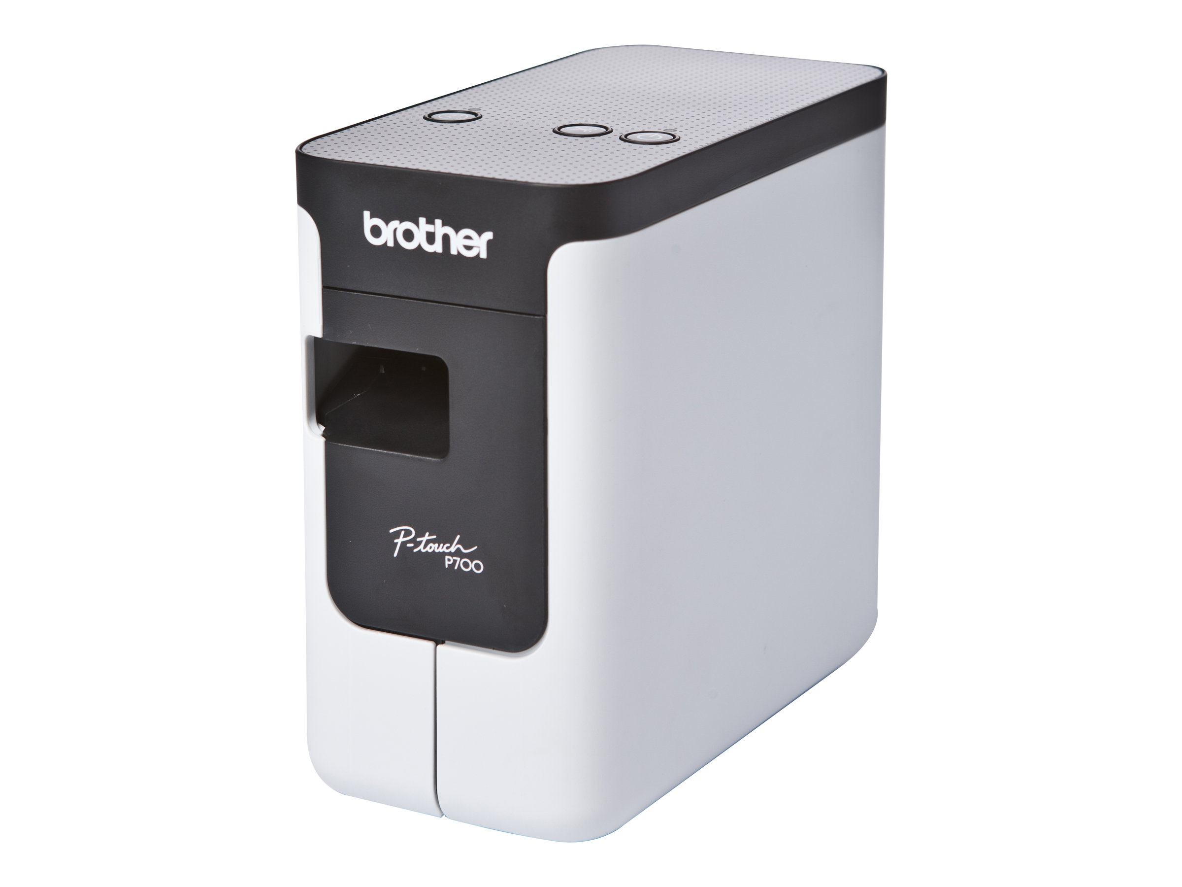 Brother P-Touch PT-P700 - Etikettendrucker - Thermotransfer - Rolle (2,4 cm) - 180 dpi - bis zu 30 mm/Sek.