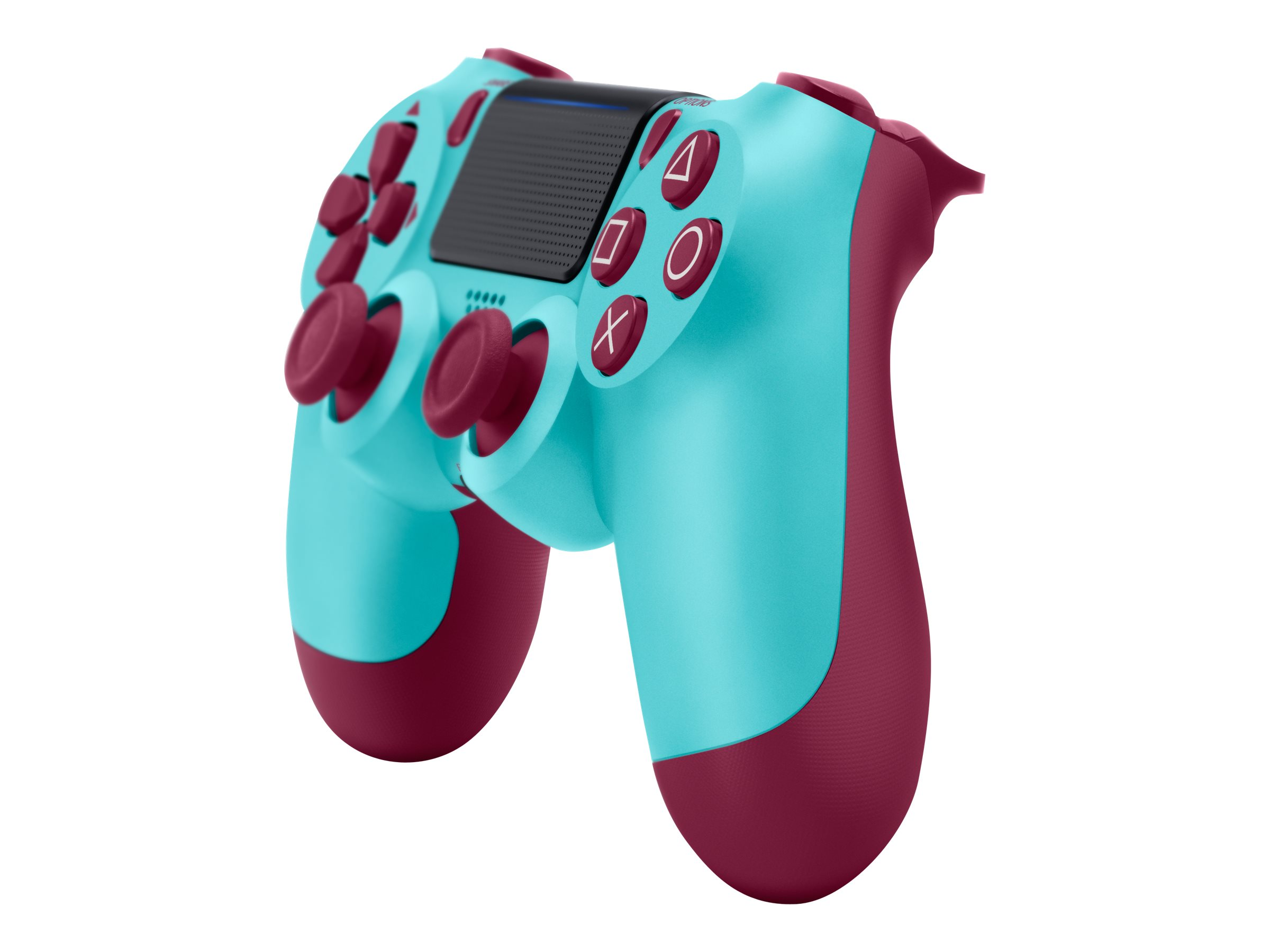 Sony DualShock 4 - Game Pad - kabellos - Bluetooth - Berry Blue - für Sony PlayStation 4