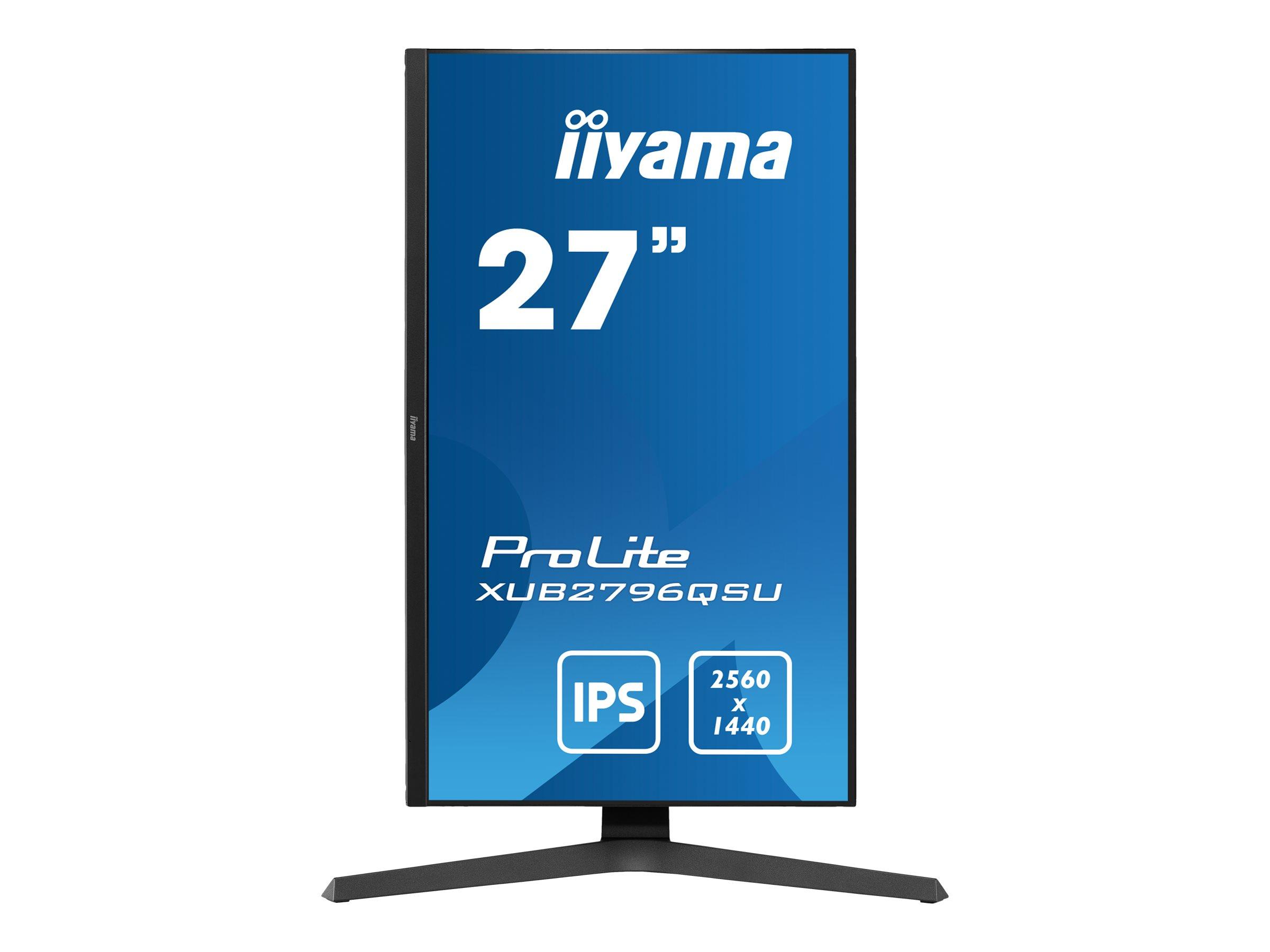 iiyama ProLite XUB2796QSU-B1 - LED-Monitor - 68.5 cm (27