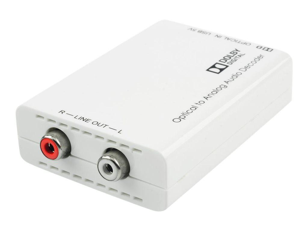 Lindy Optical Audio DAC - Audio-Digital-Analog-Wandler - weiss