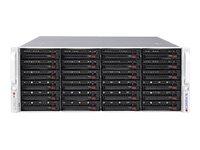 Supermicro SuperStorage Server 6048R-E1CR24L - Server - Rack-Montage - 4U - zweiweg - RAM 0 MB