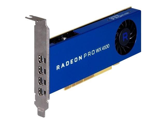 AMD Radeon Pro WX 4100 - Grafikkarten - Radeon Pro WX 4100 - 4 GB GDDR5 - 4 x Mini DisplayPort - für Precision 5820 Tower, 7820