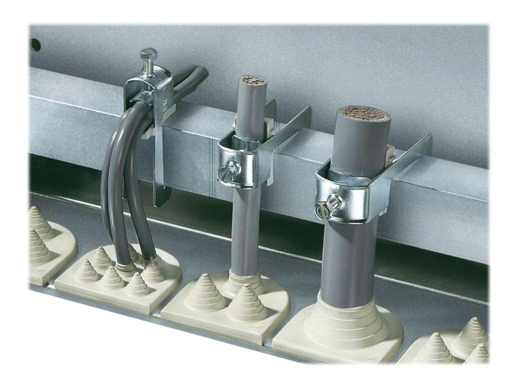 Rittal - Kabelklemmen-Kit - zinkbeschichtet (Packung mit 25)