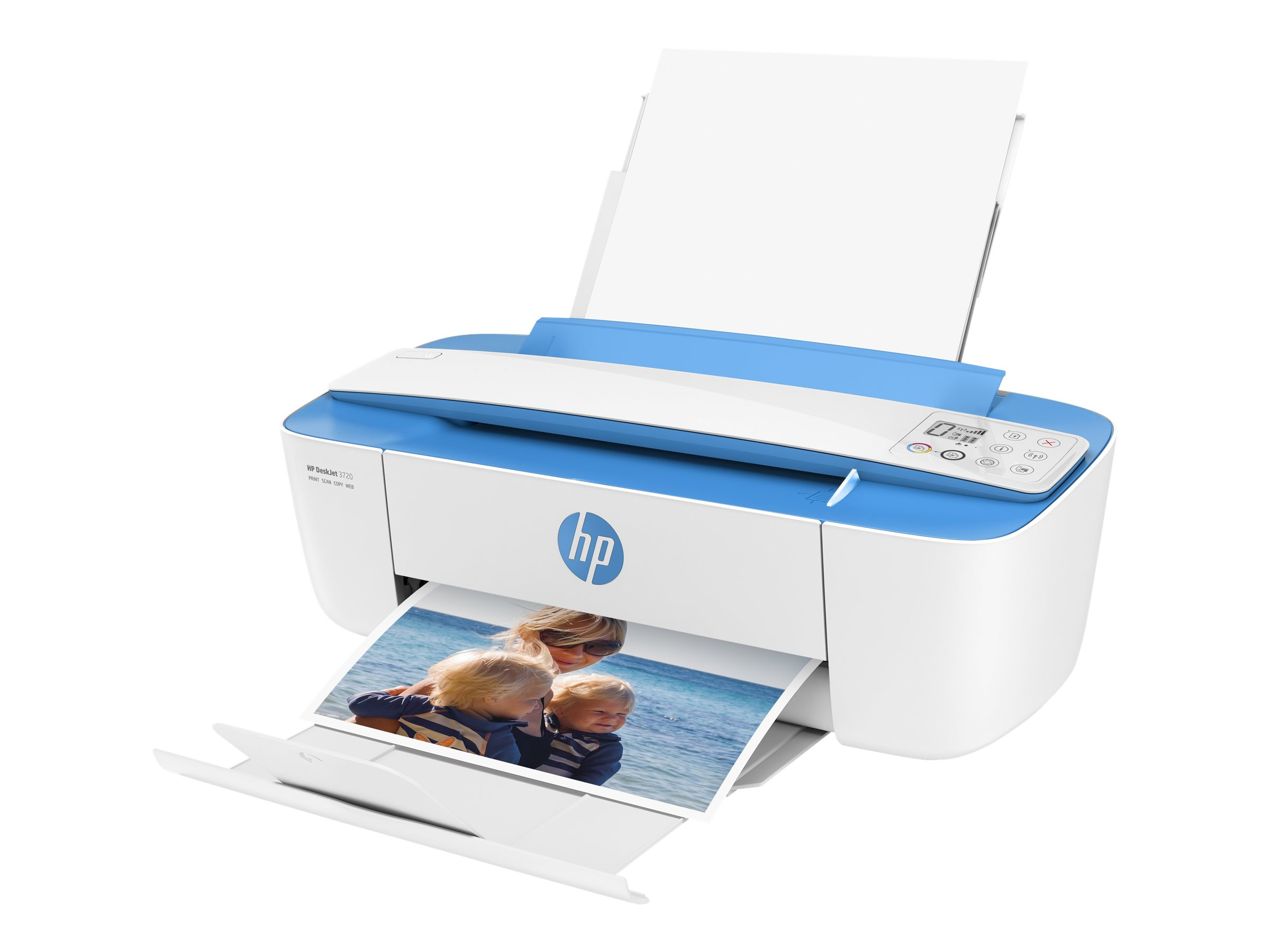 HP Deskjet 3732 All-in-One - Multifunktionsdrucker - Farbe - Tintenstrahl - 216 x 355 mm (Original) - A4/Legal (Medien)