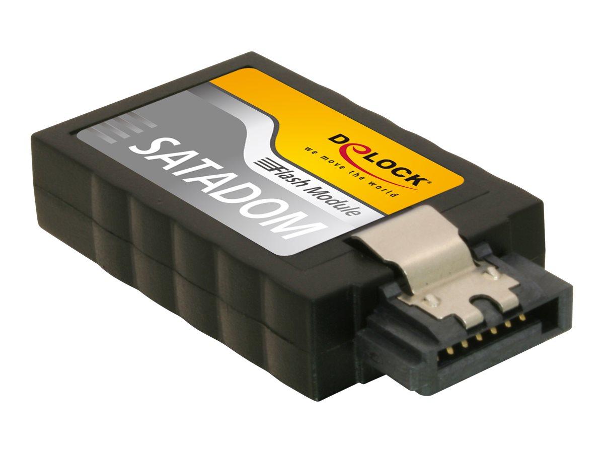 DeLOCK Flash Modul - Solid-State-Disk - 64 GB - intern - SATA 6Gb/s