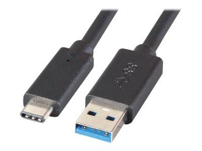 M-CAB - USB-Kabel - USB Typ A (M) bis USB-C (M) - USB 3.1 - 5 A - 50 cm