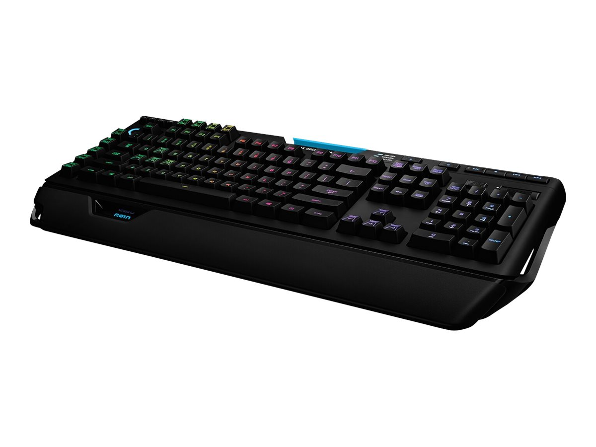 Logitech G910 Orion Spectrum RGB Mechanical Gaming - Tastatur - hintergrundbeleuchtet - USB - Deutsch - Schlüsselschalter: Romer