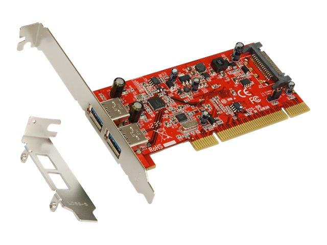 Exsys EX-1092 - USB-Adapter - PCI Low-Profile - USB 3.0 x 2