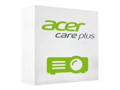 Acer Care Plus Carry-in Booklet - Serviceerweiterung - Arbeitszeit und Ersatzteile - 3 Jahre - Pick-Up & Return - muss innerhalb