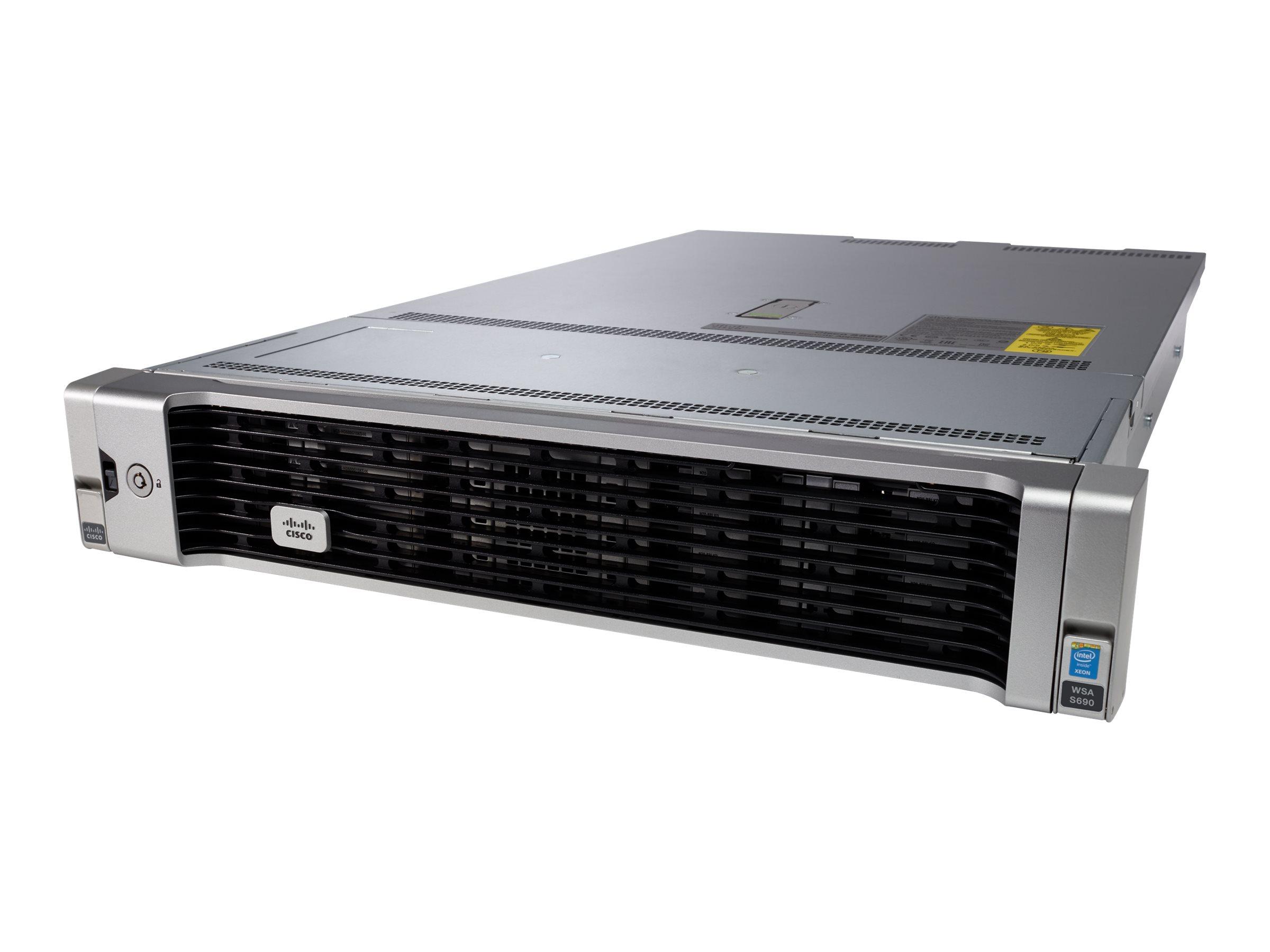 Cisco Web Security Appliance S690 with Software - Sicherheitsgerät - 6 Anschlüsse - GigE - 2U - Rack-montierbar