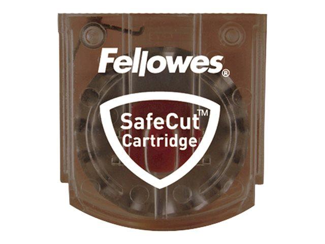 Fellowes SafeCut - Austausch-Klingenpatrone (Packung mit 2) - für Fellowes Electron A3, Electron A4, Neutron A4, Neutron Plus A4
