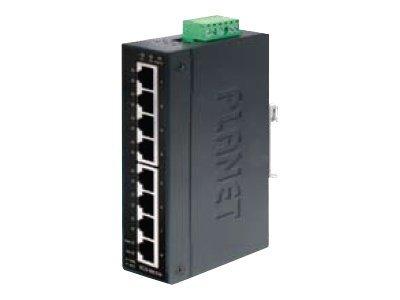 PLANET IGS-801M - Switch - verwaltet - 8 x 10/100/1000 - an DIN-Schiene montierbar