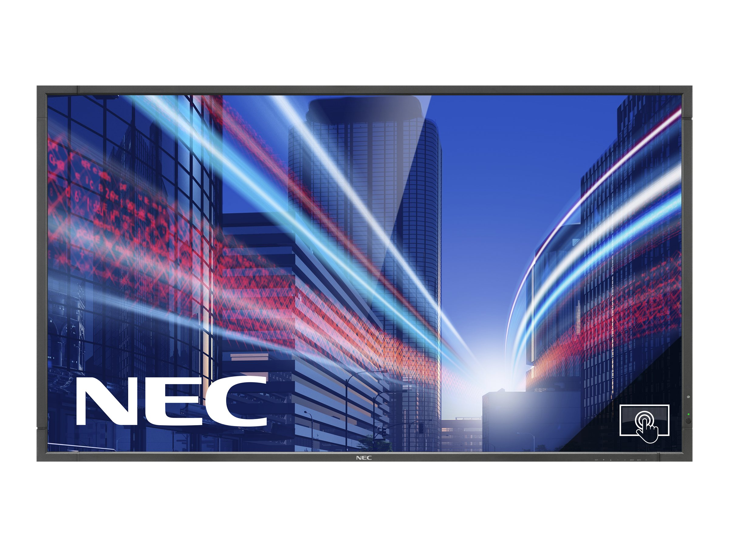 NEC MultiSync P463 DST (Single Touch) - 116.8 cm (46