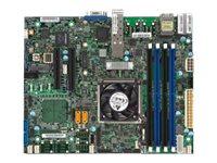 SUPERMICRO X10SDV-4C+-TP4F - Motherboard - FlexATX - Intel Xeon D-1518 - USB 3.0 - 2 x 10 Gigabit LAN, 2 x Gigabit LAN