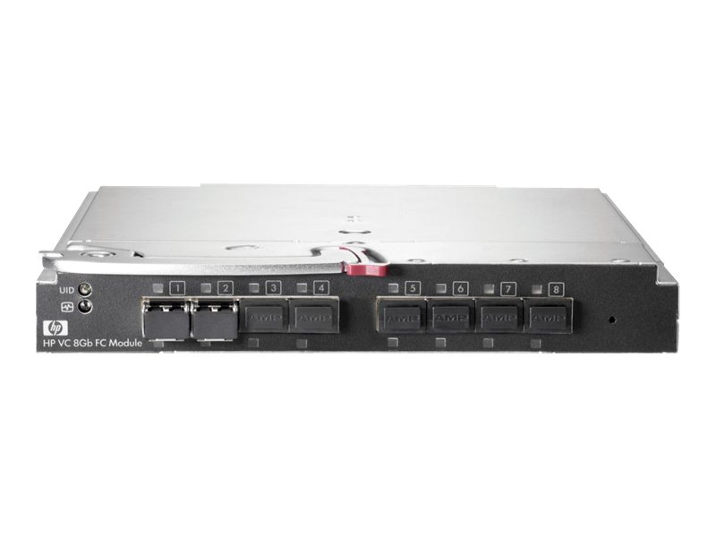 HPE Virtual Connect 8Gb 24-Port Fibre Channel Module - Switch - 24 x 8Gb Fibre Channel - Plugin-Modul - für BLc3000 Enclosure; B