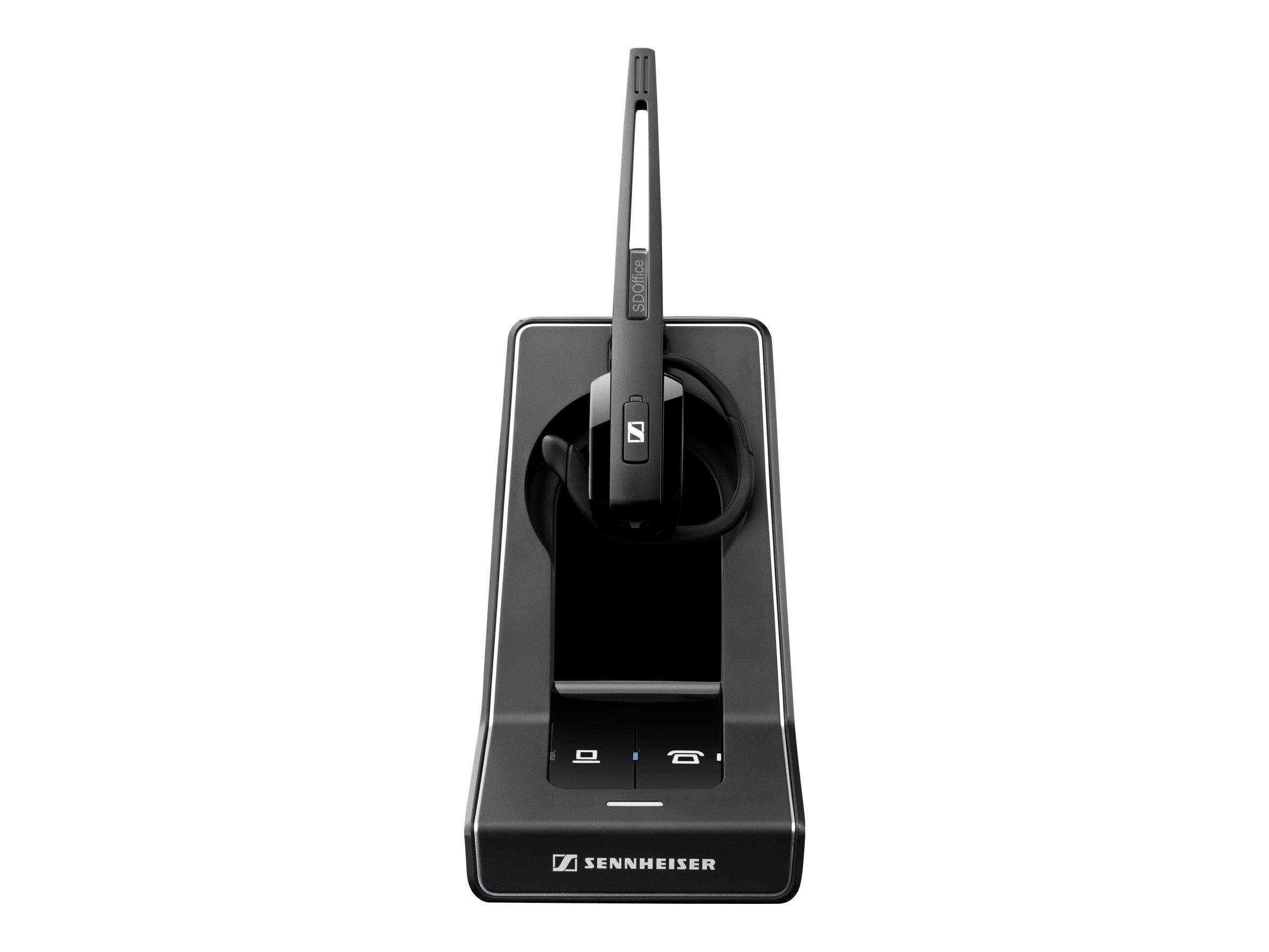 Sennheiser SD Office ML - Headset - konvertierbar - DECT 6.0 - kabellos