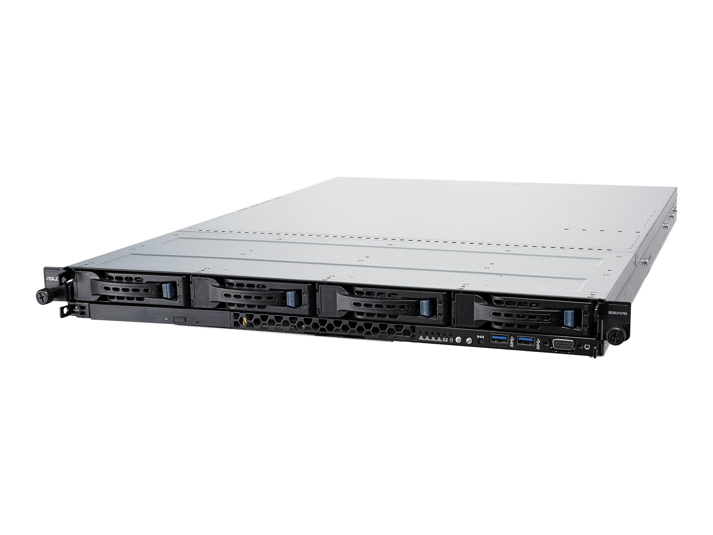 ASUS RS300-E10-PS4 - Server - Rack-Montage - 1U - 1-Weg - keine CPU