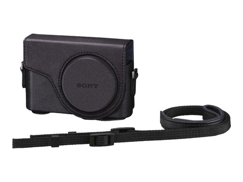 Sony LCJ-WD - Schutzhülle für Kamera - Polyurethan - Schwarz - für Cyber-shot DSC-WX300