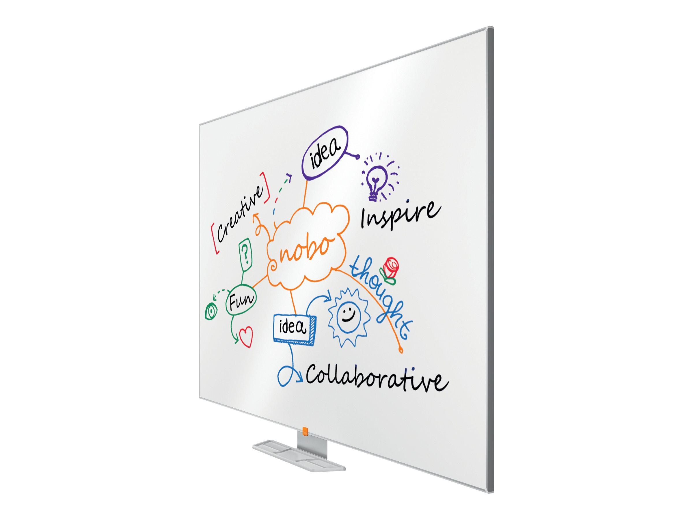 Nobo Classic - Whiteboard - geeignet für Wandmontage - 1800 x 900 mm - Lackierter Stahl - magnetisch