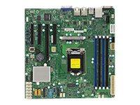 SUPERMICRO X11SSM-F - Motherboard - micro ATX - LGA1151 Socket - C236 - USB 3.0