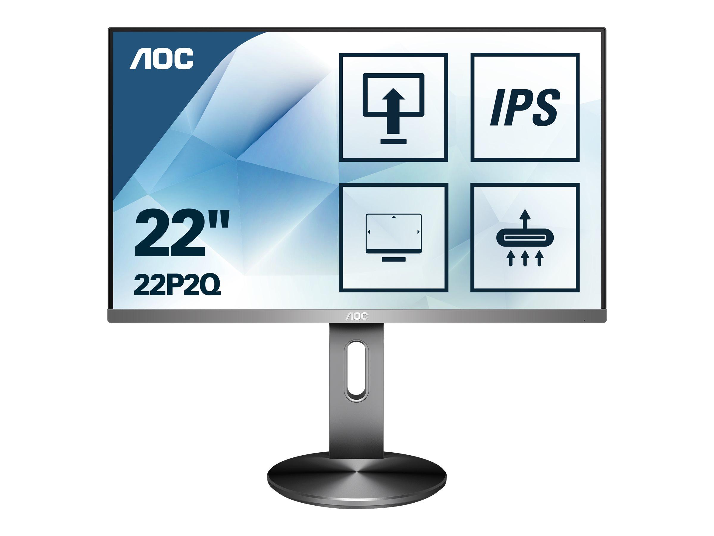 AOC 22P2Q - LED-Monitor - 55.9 cm (22