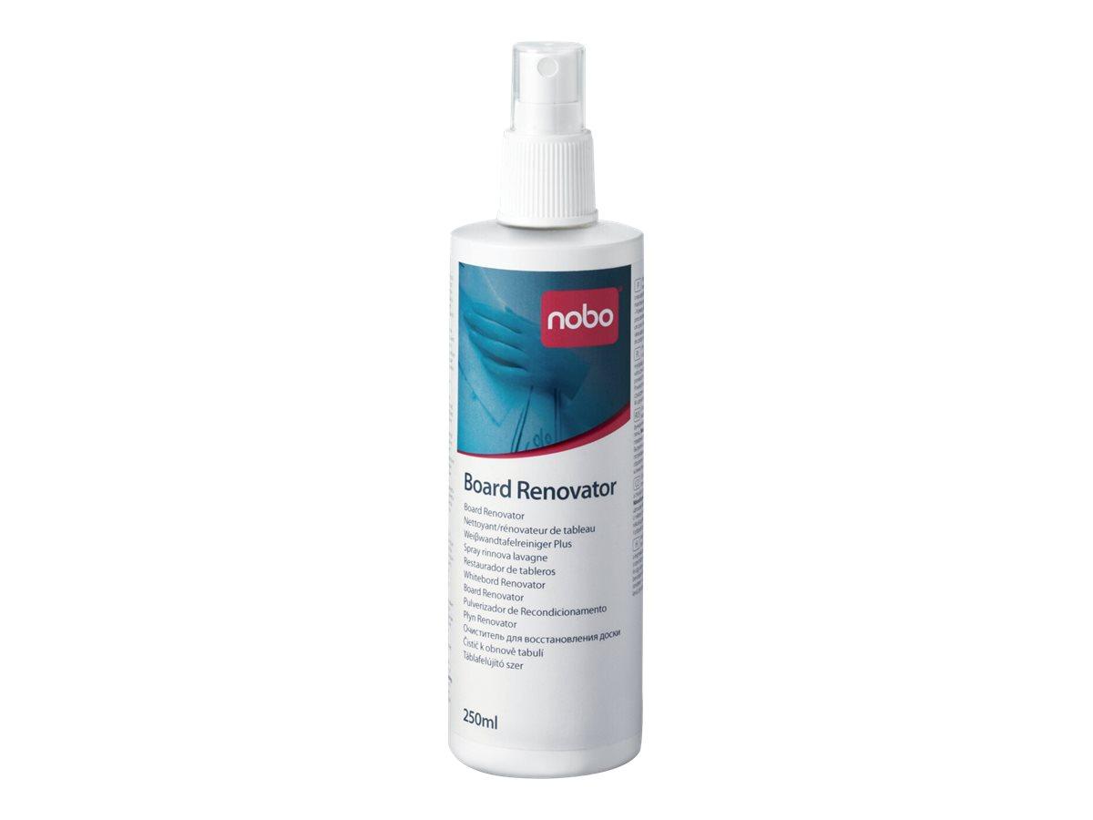 Nobo Board Renovator - Whiteboard-Reinigungslösung - 250 ml - für P/N: 1900925, 1900933, 1900940, 1901043, 1901522, 1901567, QBP