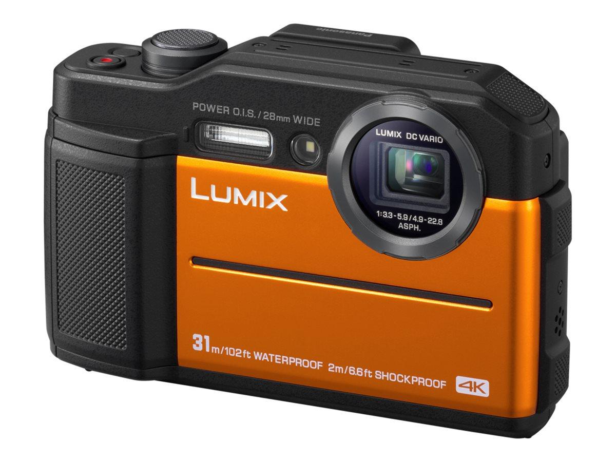 Panasonic Lumix DC-FT7 - Digitalkamera - Kompaktkamera - 20.4 MPix - 4K / 30 BpS - 4.6x optischer Zoom