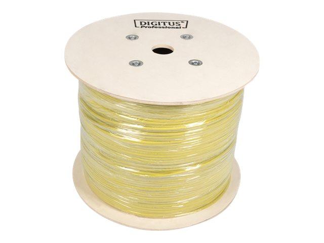 DIGITUS Professional Installation Cable - Bulkkabel - 1000 m - SFTP - CAT 7a - halogenfrei