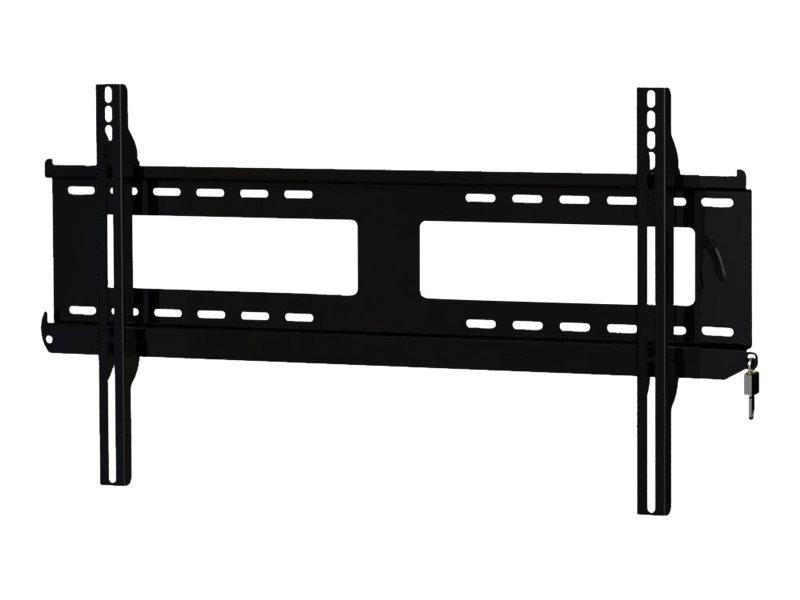 Peerless PFL650 - Befestigungskit (Zubehör für seitliche Verschiebbarkeit, Riegel) für Flachbildschirm - Schwarz - Bildschirmgrö