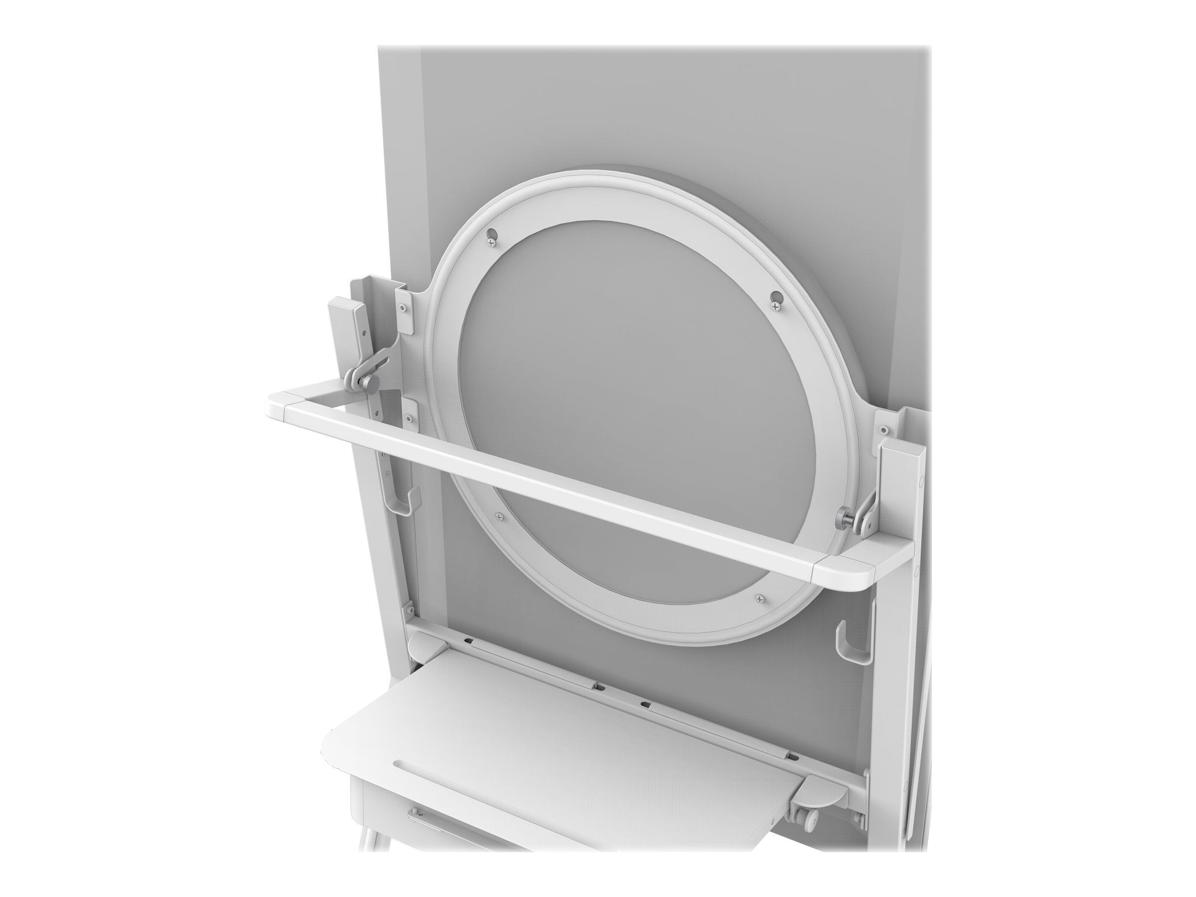 Vision VFM-F10 Halo - Montagekomponente (Halter) für interaktives Whiteboard - Stahl - weiss - Montageschnittstelle: 350 x 350 m