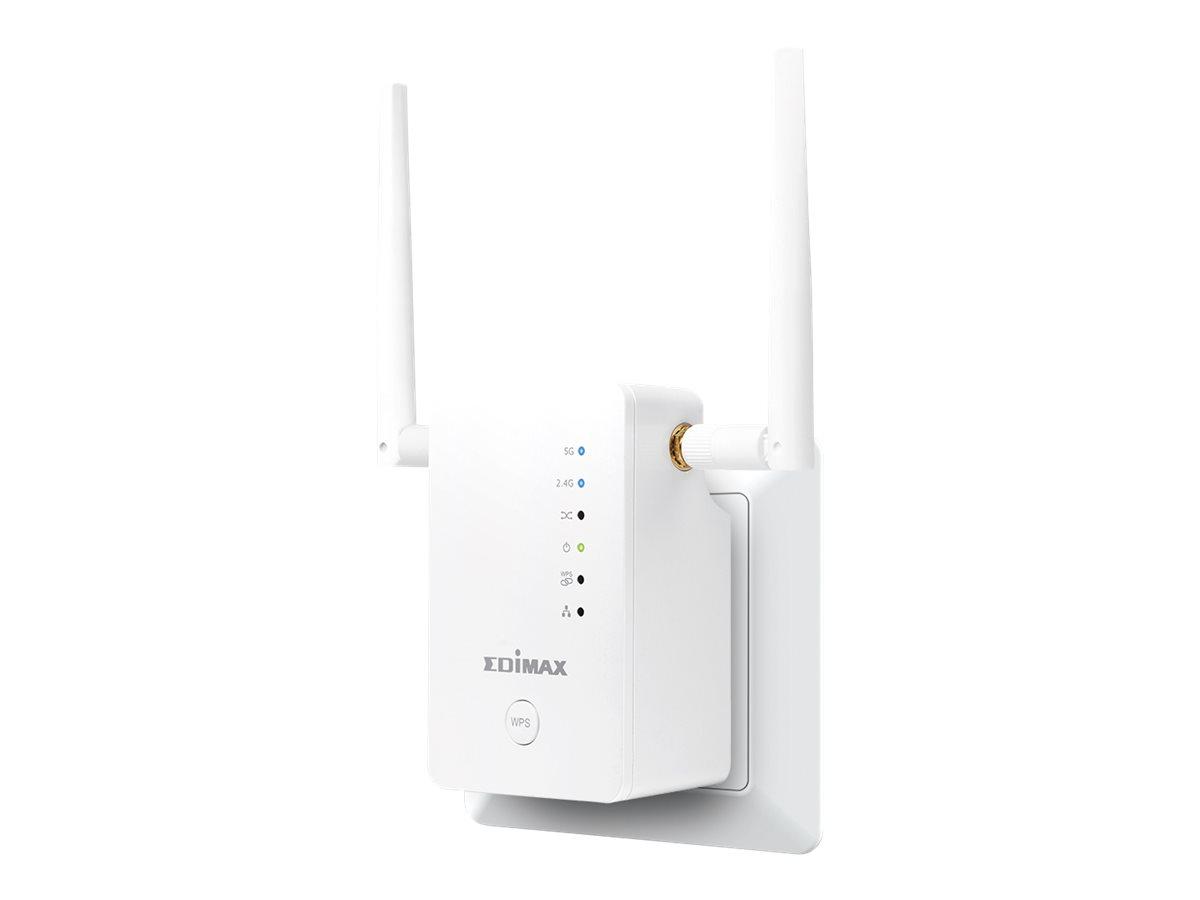 Edimax Gemini RE11S - Wi-Fi-Range-Extender - GigE - Wi-Fi - Dualband